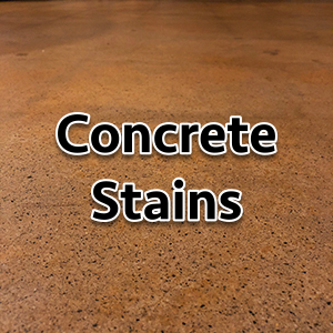 Concrete Stains and Waxes